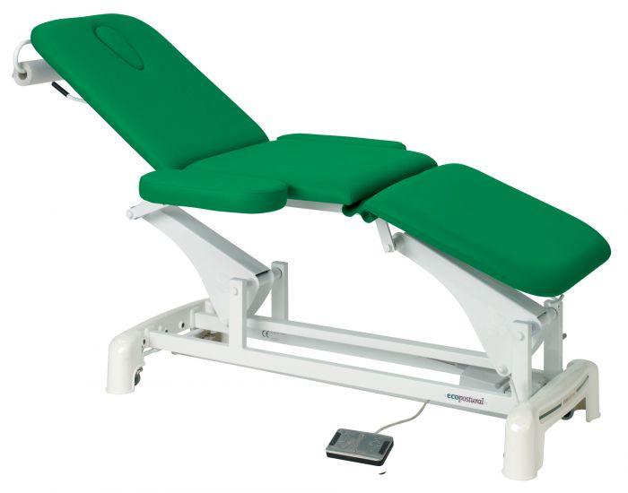 Elektrische Massageliege 3-teilig mit Armstütze Ecopostural C3536