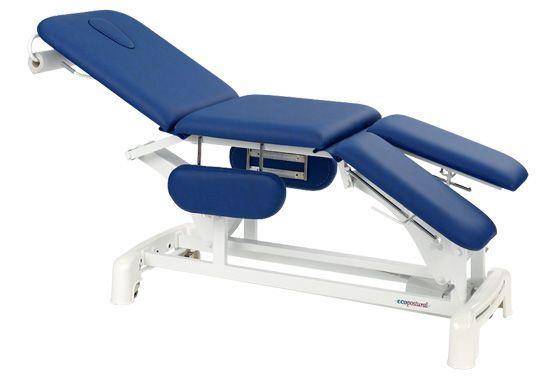 Elektrische Massageliege für Podologie-Praxis mit Armstützen Ecopostural C3539