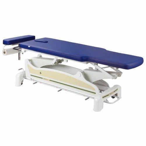 Elektrische Massageliege mit peripherer Fußbedienung mit zurückversetzten Seiten Ecopostural C3560M44