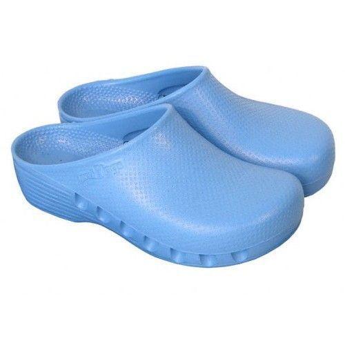 Mediplog OP-Clogs nicht perforiert hell blau