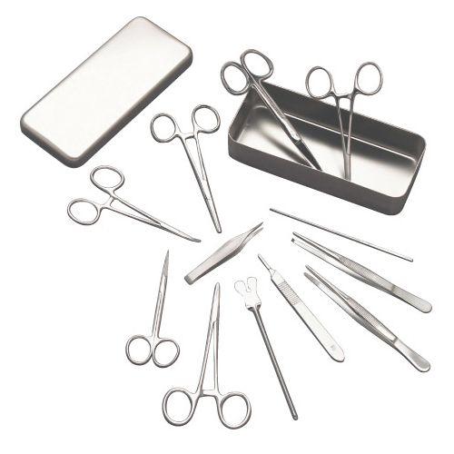 Kiste für kleine Chirurgie Alu 18 x 9 x 3 cm