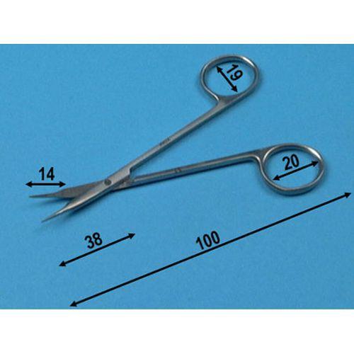 Stevens Schere Kurven Holtex 18 cm