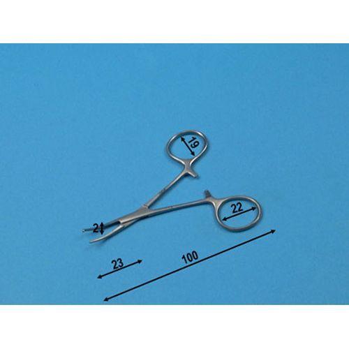 Micro kurven Zange Halstead Holtex 10 cm