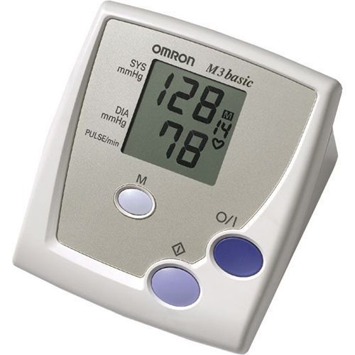 Vollautomatisches Oberarm-Blutdruckmessgerät OMRON M3 Basic