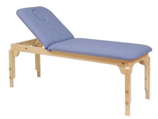 Stationäre Holz-Massageliege Ecopostural höhenverstellbar C3120