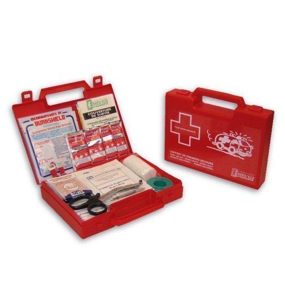 Notfalltasche  Esculape für Heilung von Verbrennungen
