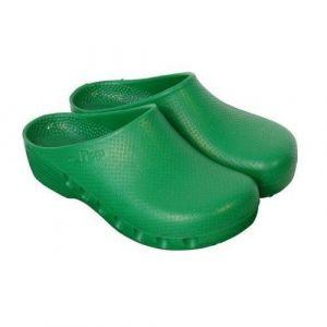 Mediplog OP-Clogs nicht perforiert grün