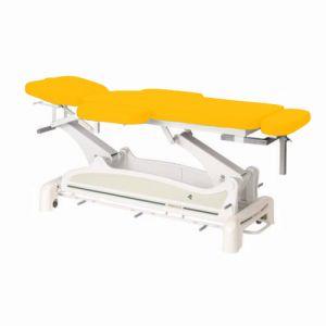 Elektrische Massageliege für Physiotherapie-Praxis mit Armstützen und peripherer Fußbedienung Ecop. Ecopostural C3535M24