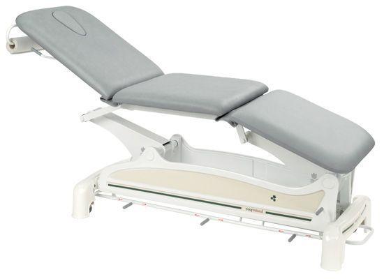 Elektrische Massageliege 3-teilig mit peripherer Fußbedienung Ecopostural C3557