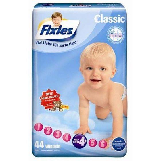 120 Baby-Windeln Fixies Maxi-plus (9-20 kg)