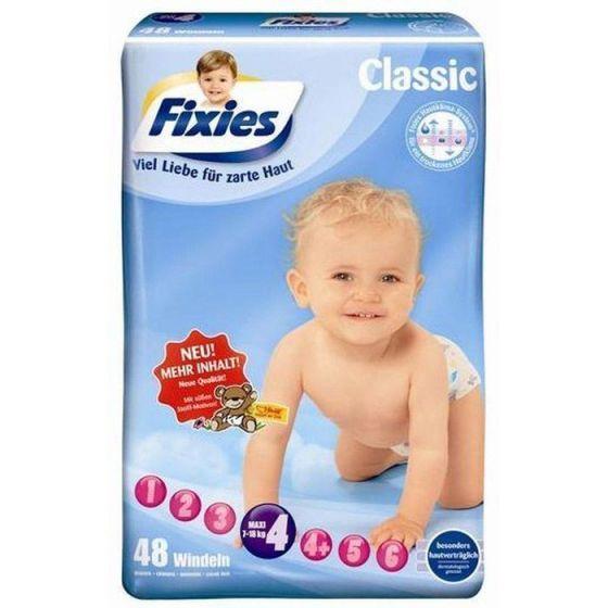 132 Babywindeln Fixies Maxi (7-18 kg)