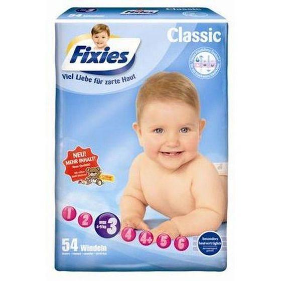 144 Babywindeln Fixies Midi (4-9 kg)