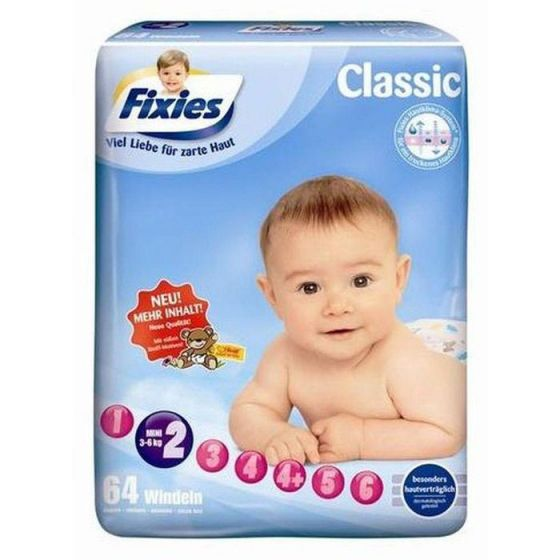 168 Babywindeln Fixies Mini (3-6 kg)