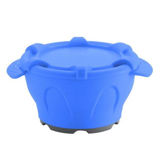 Thermodynamische Schale mit Deckel blau Holtex