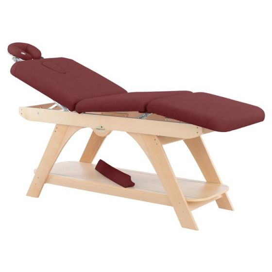 Table de massage fixe en bois Ecopostural hauteur fixe C3279