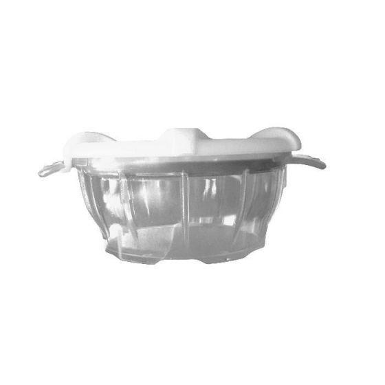 Polycarbonat-Schale mit Deckel weiß thermodynamischen Holtex