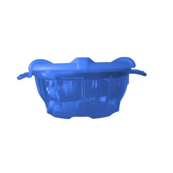 Polycarbonat-Schale mit Deckel blau thermodynamischen Holtex