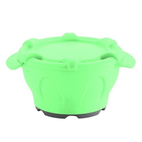 Thermodynamische Schale mit Deckel grün Holtex