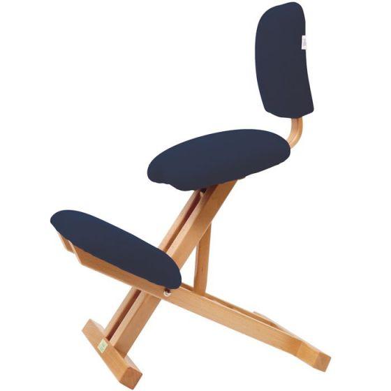 Klappbarer ergonomischer Stuhl mit Rückenlehne Ecopostural S2105