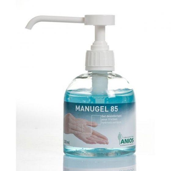 Hydroalkoholisches und Anti-bakterielle Gel Anios Manugel 85