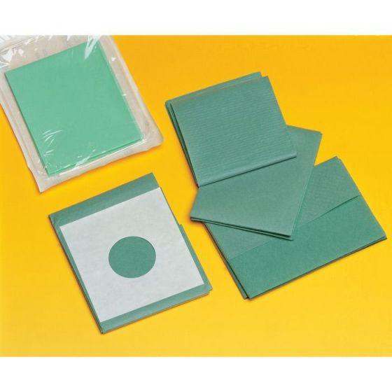 Kiste von 50 Abdeckungen Optima PE Abdecktuch und selbstklebend.