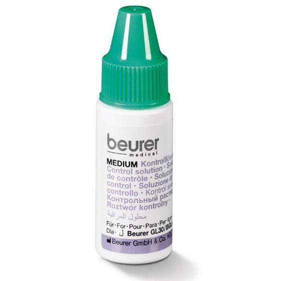 Blutzucker-Kontrolllösung Beurer MEDIUM (mittlerer Blutzuckermessbereich)