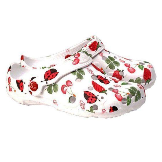 Schu'zz Clogs für Damen Erdbeere