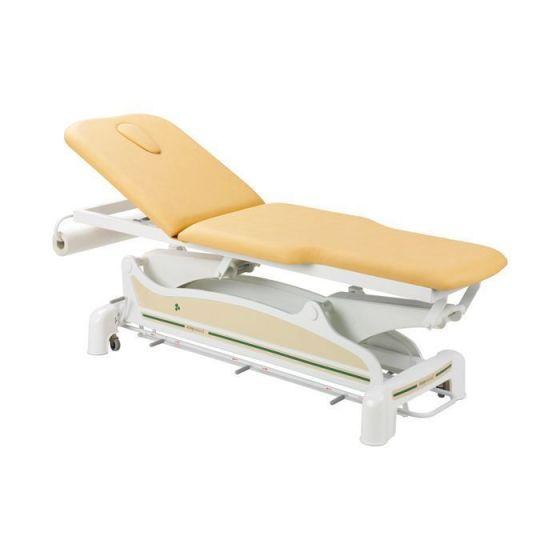 Elektrische Massageliege 2-teilig mit zurückversetzten Seiten Ecopostural C3562M44