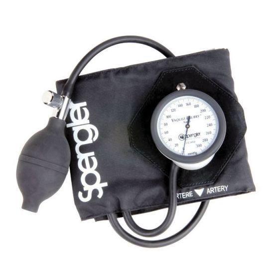 Aneroid-Blutdruckmessgerät an Manschette Spengler Vaquez Laubry Nano