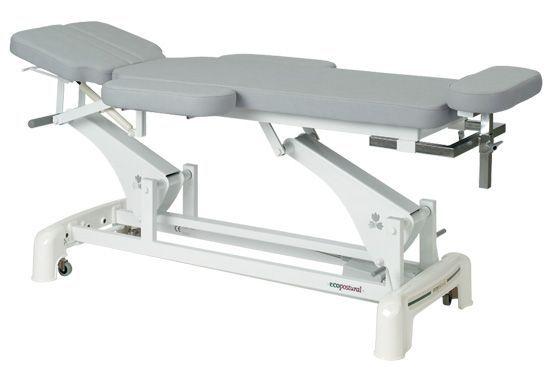 Elektrische Massageliege für Physiotherapie-Praxis mit Armstützen Ecopostural C3545M24
